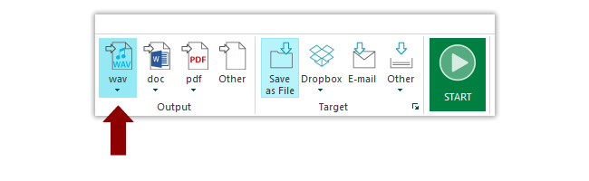 Convert documents into audio files